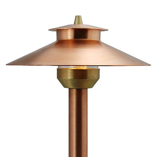 Raw Copper Landscape Lights in US - 2
