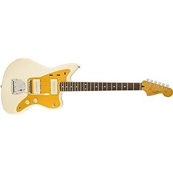 Squier by Fender J Mascis Jazzmaster, Rosewood Fretboard - Vintage White