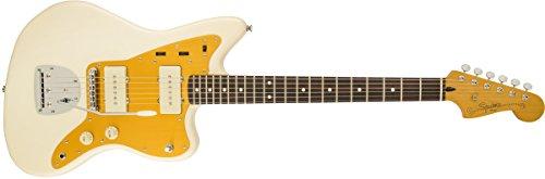 (Squier by Fender J Mascis Jazzmaster, Rosewood Fretboard - Vintage White)