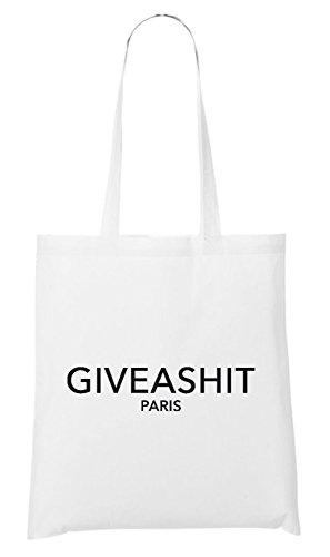 Give A Shit Paris Bag White
