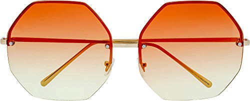 Fresh Fashion Designer Hexagon Sunglasses product image