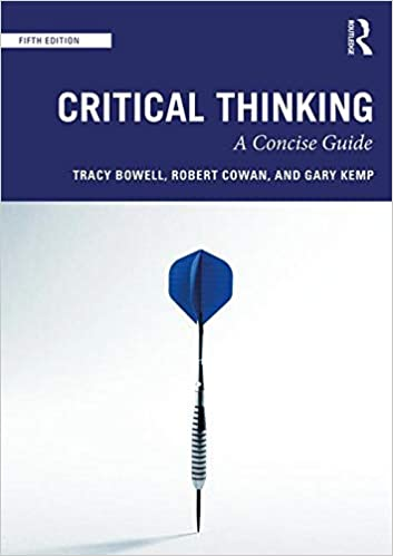 critical thinking tracy bowell gary kemp