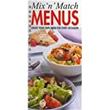Mix-N-Match Quick Menus 2001, , 1582792097