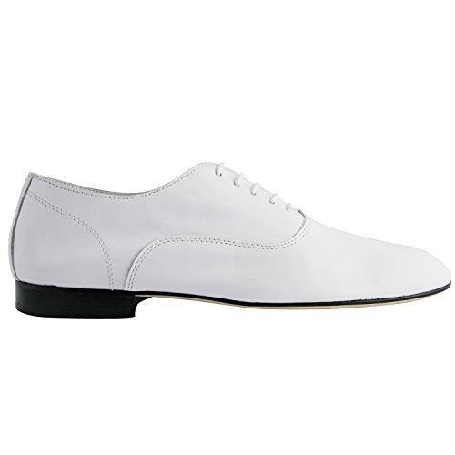 Exclusivo Paris Gainsbar Richelieus, zapatos de hombre para hombre Blanco - blanco