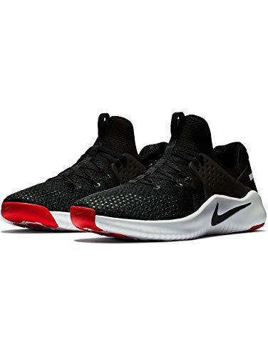 Nike Herren Free Tr 8 Sneakers, Mehrfarbig (Black/White/Red Blaze 004)