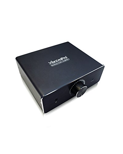 XtremPro Audio Amplifier DAC 22W for Headphone, Mac, PC, iPhone, iPod - Black (11111) (Pcs Amplifier)