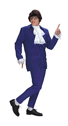 Austin Powers Costume Deluxe Adult Mens Costume