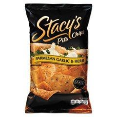 -- Pita Chips, 1.5 oz Bag, Parmesan Garlic & Herb, 24/Carton