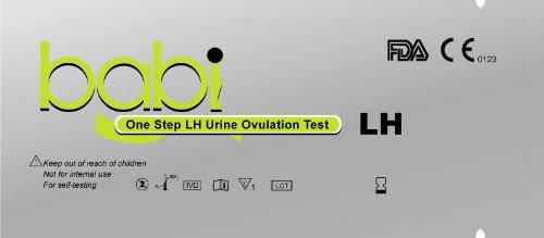 babi Combo 40 tests d'ovulation et 10 bandelettes de test de grossesse précoce