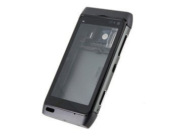 Full Housing Faceplate Phone Case Cover for Nokia N8 (Black) + Worldwide free shiping