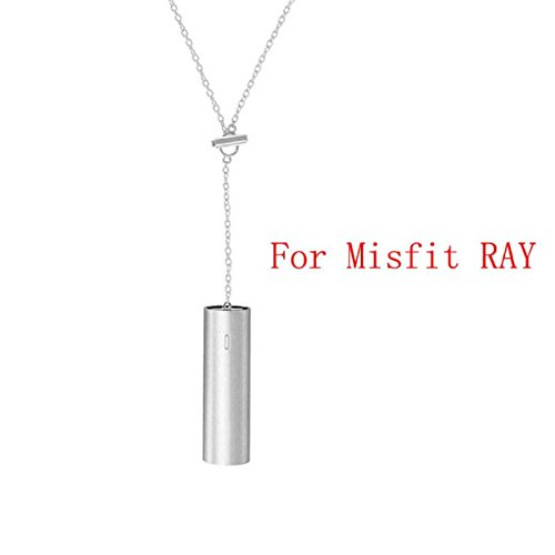 Owill Comfortable Wearing Necklace Stainless Steel Pendant Sleep Fitness Monitor For Misfit RAY - Ray Hr Silver