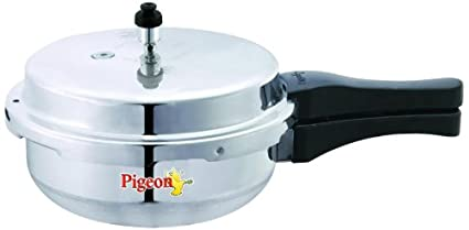 Pigeon by Stovekraft Junior Aluminium Pressure Pan With Lid, 3.5 Litres