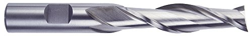 "Morse Cutting Tools 44604 Long Length Single End Mills, High-Speed Steel, Center Cutting, Bright Finish, 2 Flutes, 3/4"" x 3/4"" Size Review"