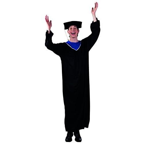 Boland 83824adultes Costume Graduate Noir