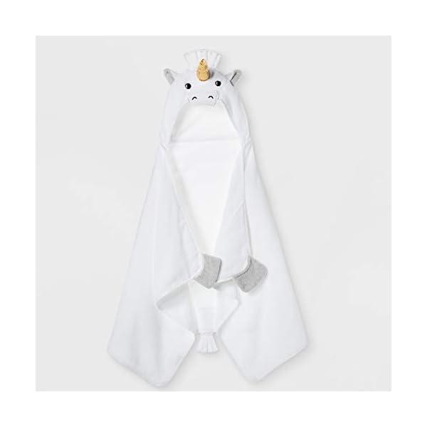 Pillowfort-Unicorn-Hooded-Bath-Towel-White