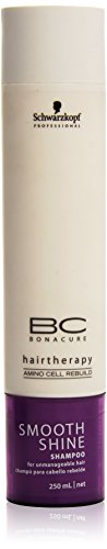 BC Smooth Shine Shampoo ( For Unmanageable Hair ) - Schwarzkopf - Bonacure - 250ml/8.3oz (Shine Bonacure Smooth Shampoo)