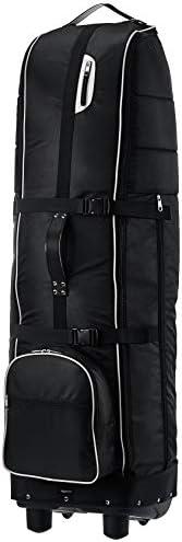 AmazonBasics Soft-Sided Foldable Golf Travel Bag