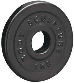 und Kurzhantelstange 2x je 250 g mit Hantelscheiben L/änge 35 cm 1,8 kg 2 x 2 kg und 4 x 1 kg BODY SCULPTURE Kurzhantel-Set 10,3 kg Gewicht mit Sternverschl/üssen
