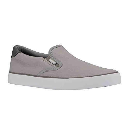 Lugz Men's Clipper Fashion Sneaker, Alloy/Charcoal/White, 10.5 M ()