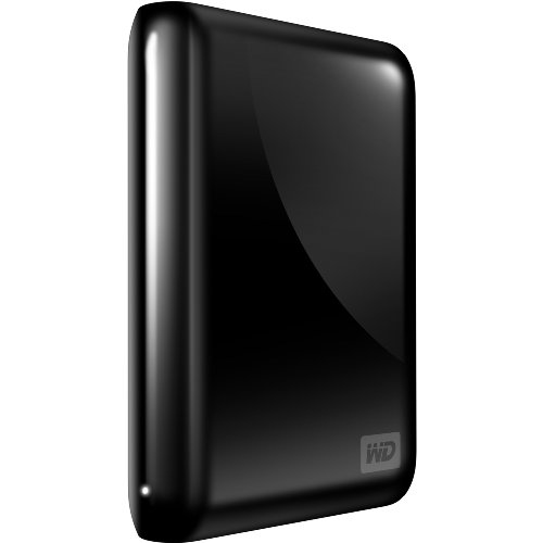 WD My Passport Essential SE 750 GB USB 2.0 Portable External Hard Drive (Midnight Black)