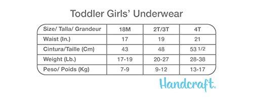 Handcraft Disney Moana Girls Cotton Panties Underwear 7-Pack