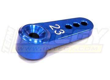 - Integy RC Model Hop-ups C23228BLUE Billet Machined Alloy Servo Horn 23T Type Standard-Single Sided (r=13, 16, 19mm)