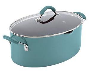 Rachael Ray Cucina Hard Porcelain Enamel Nonstick Pasta Pot