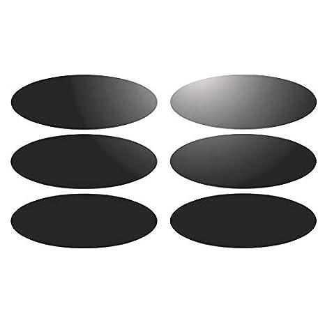 casco-reflectante Kit de 10 adhesivos adhesiva reflectante para se/ñalizaci/ón