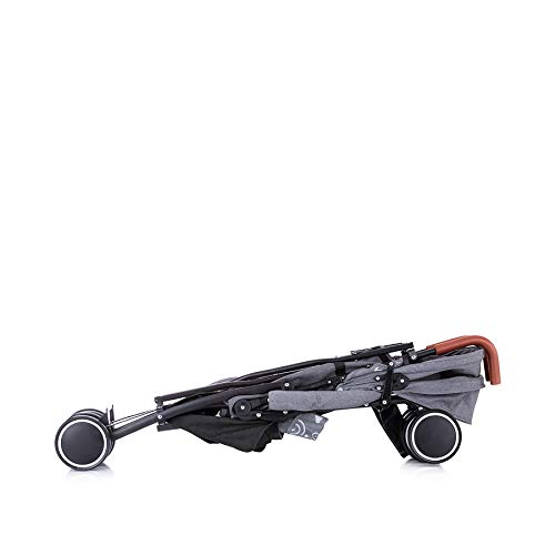Chipolino Kinderwagen, Buggy Coco, bis 22 kg, Vorderräder schwenkbar, klappbar, Farbe:blau grau
