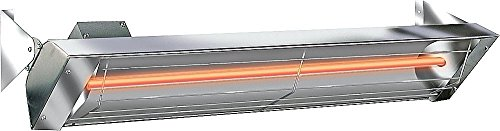 Infratech W3024SS Single Element - 3000 Watt Electric Patio Heater, Choose Finish: Stainless Steel Alfresco Infrared Grill