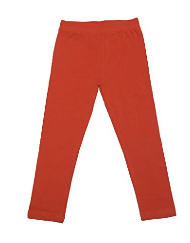 leveret-solid-girls-legging-orange-4-years