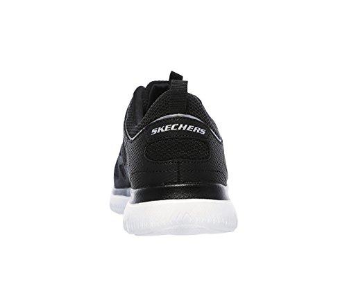 Dynamight Blanco Skechers Mujer Negro Zapatillas Negro Plateado 8waf7qdx