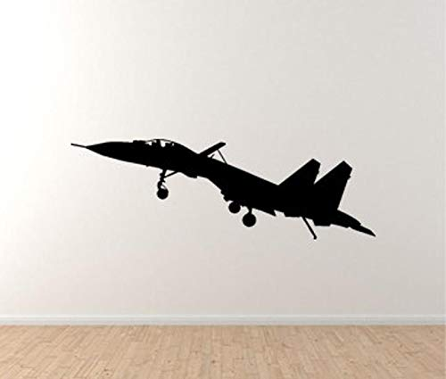 BYRON HOYLE Russian Sukhoi Fighter Jet Vinyl Wall Decal