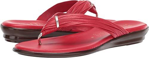(ITALIAN Shoemakers Women's Aleena Sandal (8.5 M US, Red))