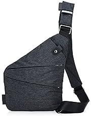 Ovecat Torba na ramię, torba na piersi, antykradzieżowa, dla kobiet i mężczyzn