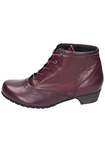 1 961454 Stiefel schwarz Brinkmann Stiefeletten Rot Damen CUSHY Dr RxYwHP0P