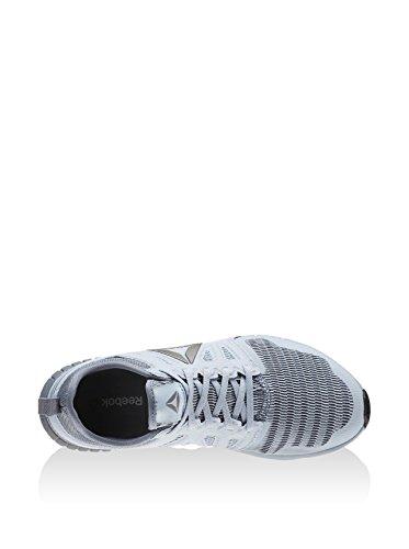 Reebok Zprint 3d, Zapatos para Correr para Mujer Gris (Gable Grey / Asteroid Dust / Fire Spark / Pewt)