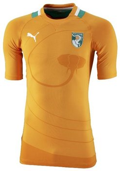 Puma Ivory Coast Home Men's Jersey (Large)