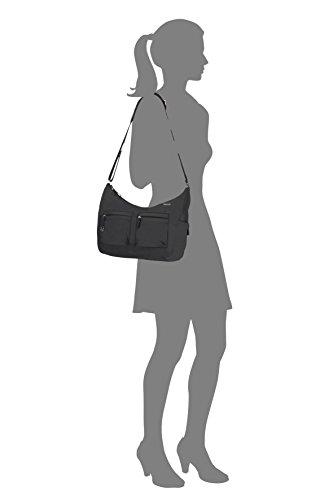 Samsonite Move 2 Shoulder Bag M + 2 Pock Borsa Messenger, 31 cm, Black