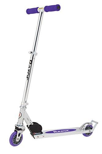 Razor A2 Kick Scooter, Purple (Renewed)