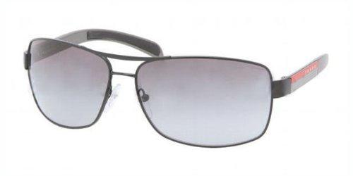 demi shiny black frame/gray gradient lens) prada sport (linea rossa) ps54is 太阳镜太阳眼镜