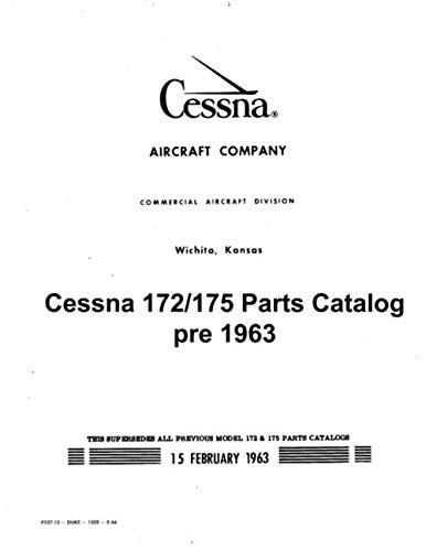 Cessna 172/175 Parts Catalog pre 1963