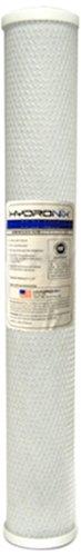 "Hydronix CB-25-2010 NSF Carbon Block Filter 2.5"" OD X 20"" Length, 10 Micron"