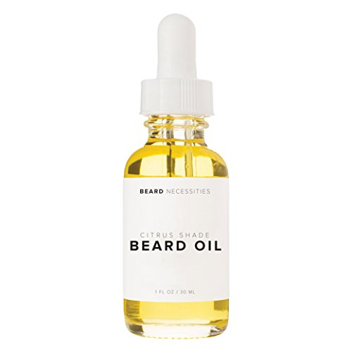 Best Beard Oil & Leave In Conditioner For Men By Beard Necessities - Natural Oils Will Soften Facial Hair & Allow Growth. Best Beard Products For Mens Grooming Kit. Care For Your Beard Today! (1 Oz)