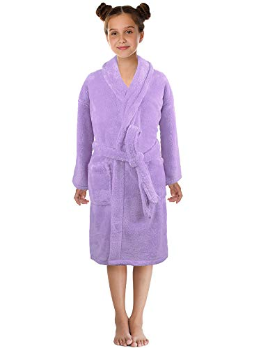 Ultra-Soft Plush Shawl Robes for Boys and Girls (Small / 3-5 Years, - Made Rope Machine