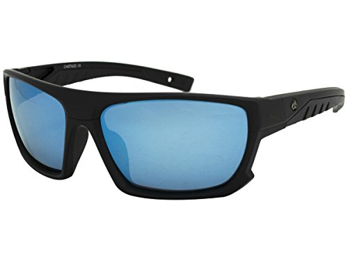 Filthy Anglers Castaic Men's Fishing Sunglass Smoked Polarized with Ice Blue (Angler Ice)