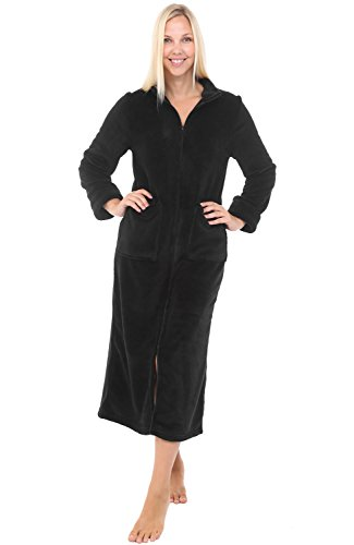 Alexander Del Rossa Womens Fleece Robe 856107d88