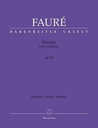 Faure Pavane Sheet Music (Pavane, Op.50 (ed. Tait): Full score)