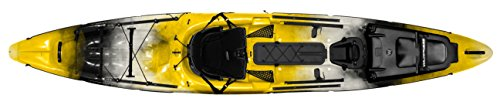 Wilderness Systems 9750475156 THRESHER 140 fishing kayaks, Solar, (Wilderness Systems Fishing Kayaks)
