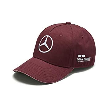 68aa838ab1bff Mercedes Benz F1 Special Edition Lewis Hamilton 2018 Singapore Wine Red Hat